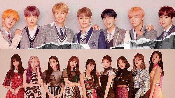 Bảng xếp hạng nhóm nhạc nổi tiếng nhất Hàn Quốc hiện nay