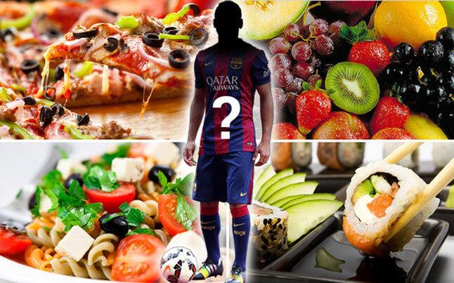 Bạn đã biết các cầu thủ ăn gì trước khi đá bóng chưa?