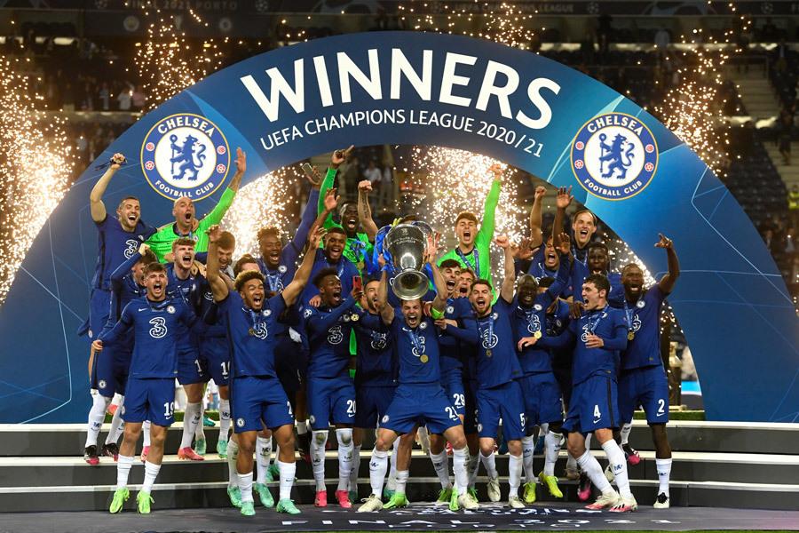 Câu lạc bộ bóng đá Chelsea vô địch C1 bao nhiêu lần?